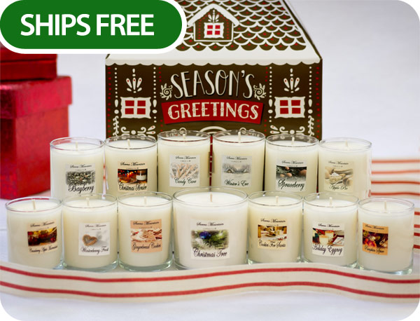 Our all new candle advent calendar set