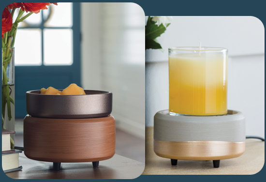 New candle warmer dishes
