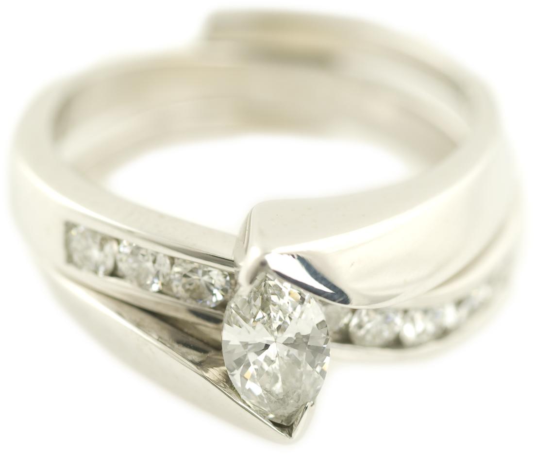 Diamonds  Marquise Cut  Engagement Rings Wedding Rings