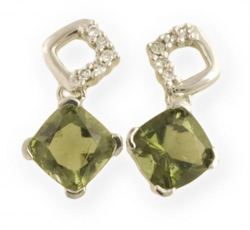 Asteria : Square Drop Earrings