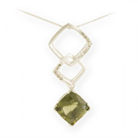 Asteria : Square Drop Pendant