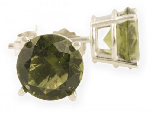 Asteria : Gold Basket Stud Earrings Earrings