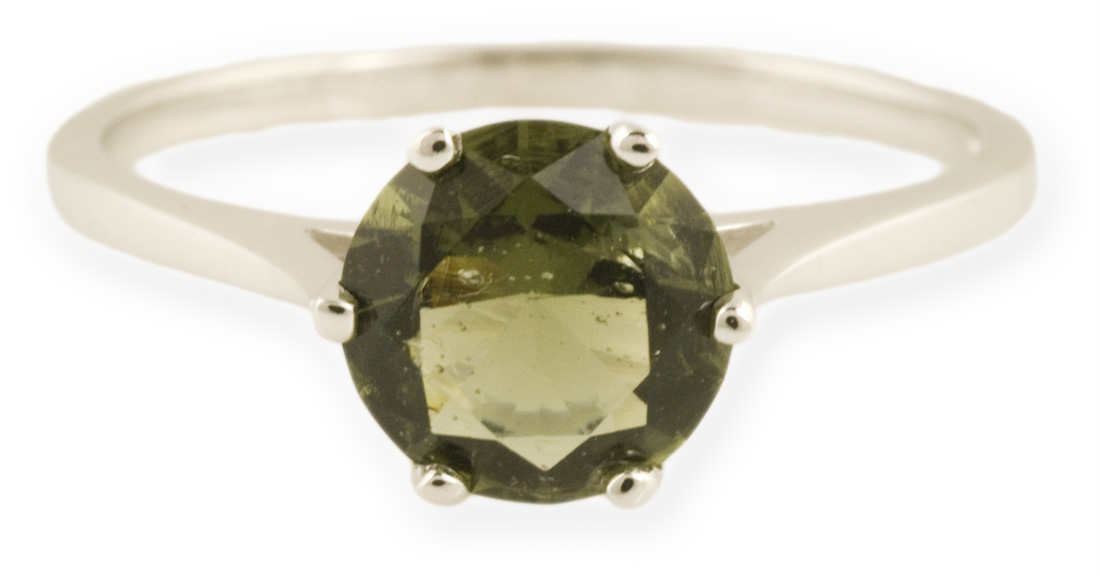 Asteria : Simple Cathedral Ring in Gold or Silver