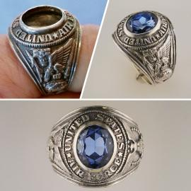 Class ring missing stone replacement
