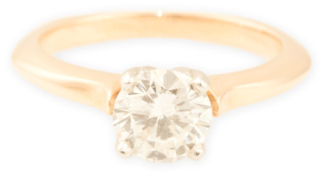 Aspen : Rose Gold Engagement Ring