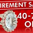 Huge jewelry sale at Arden Jewelers