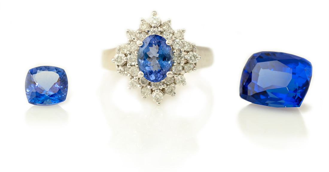 Tanzanite is a beautiful blue purple gemstone that is very rare