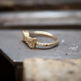 Replacing a missing diamond is a common jewelry repair