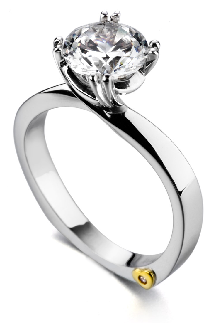Mark Schneider Beloved Contemporary Engagement Ring