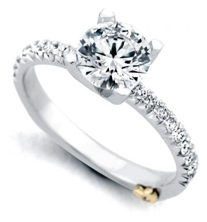 Mark Schneider : Dapper Traditional Engagement Ring