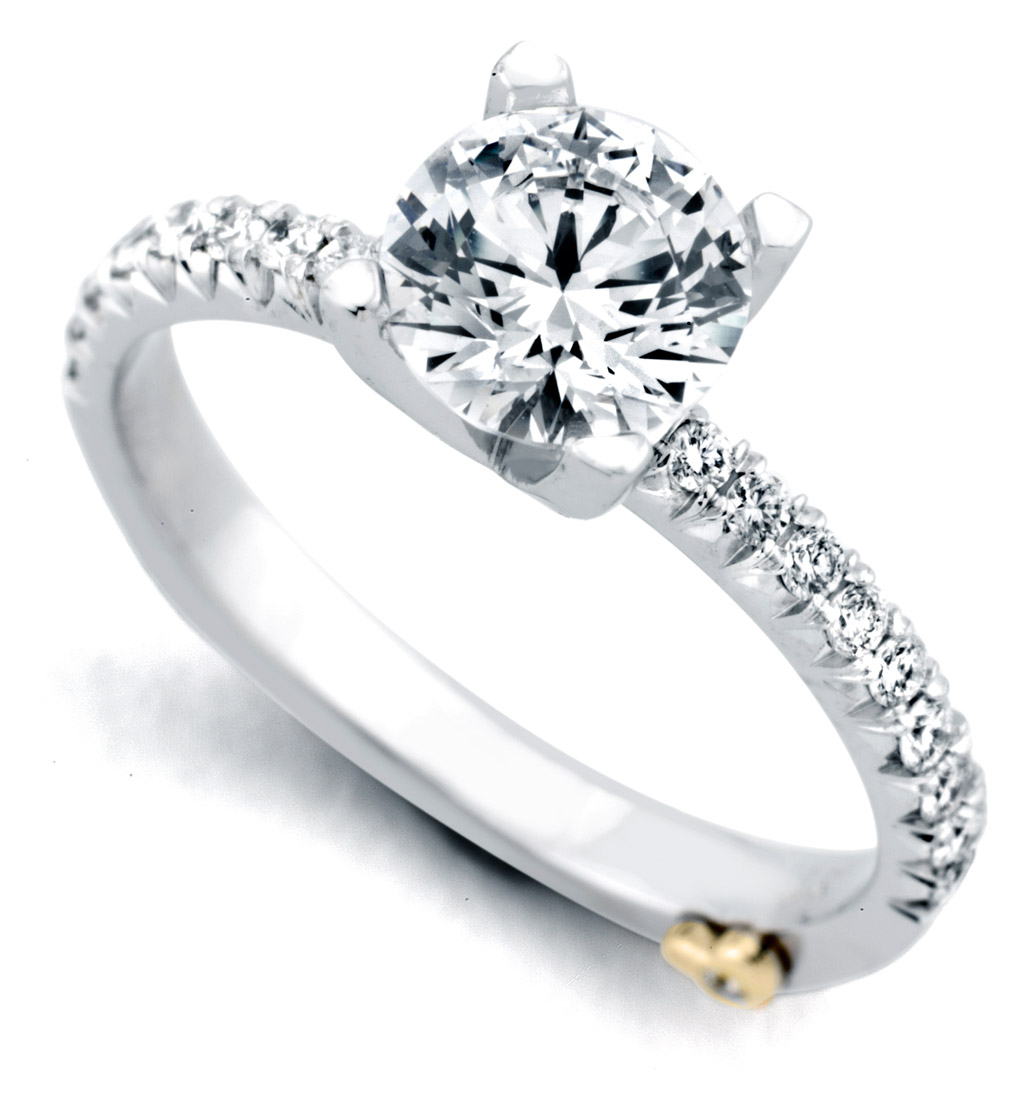 Mark Schneider Dapper Traditional Engagement Ring