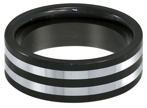 REVV CR0028 Tungsten and Ceramic ring