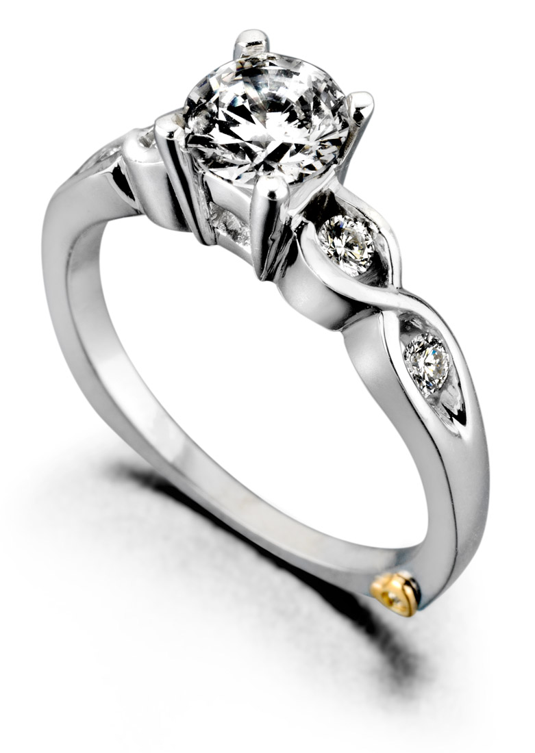 Mark Shneider Yours Truly contemporary engagement ring