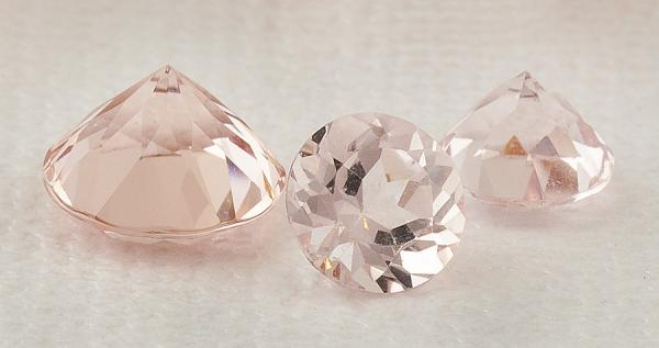 Loose Morganite gems