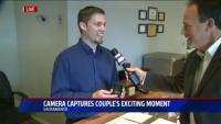 Fox 40 interviews Arden Jewelres on proposal camera