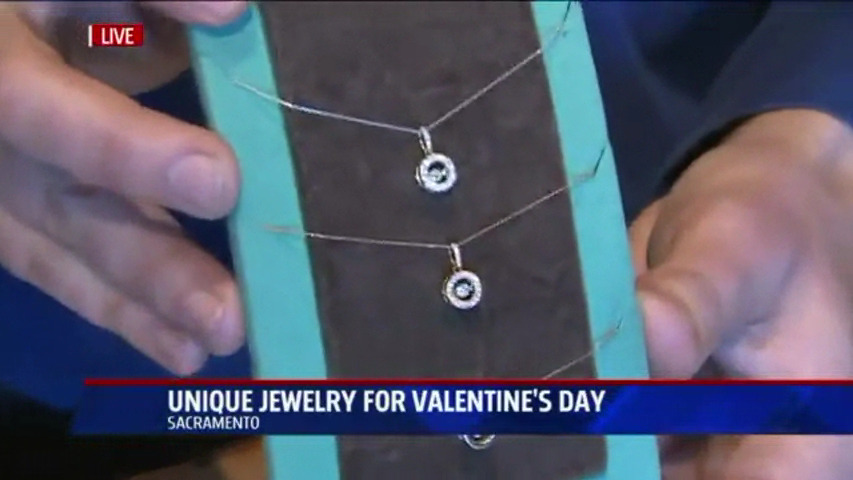Valentines Day gift ideas with Fox 40 at Arden Jewelers