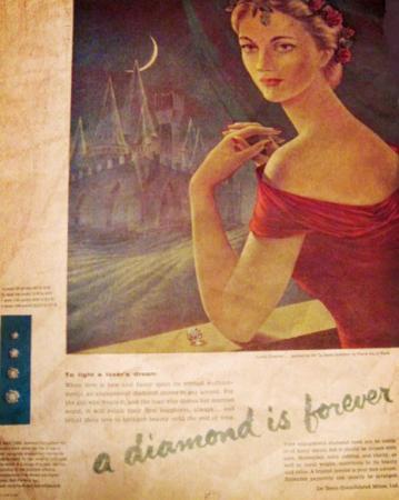 Old De Beers Ad
