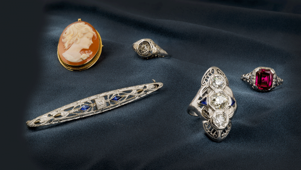 Vintage and Antique Jewelry finding service in Sacramento