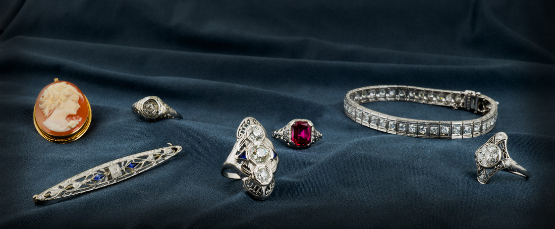 Vintage and antique jewelry from Arden Jewelers