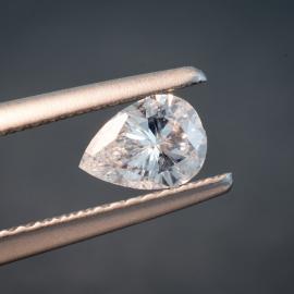 Diamond, Pear Cut, D, SI2, 0.49cts, 9148