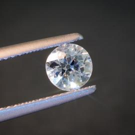 Diamond, Old Mine Cut, F, VS2, 0.63cts, 9662