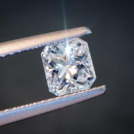 Diamond, Radiant Cut, G, SI2, 0.70cts, 9701