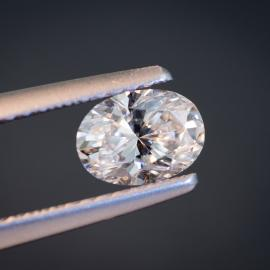 Diamond, Oval Brilliant, D, VS1, 0.71cts, 9892