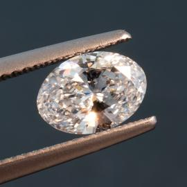 Diamond, Oval Brilliant, E, VS1, 1.04cts, 9789
