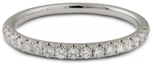 Thin and Delicate Diamond Wedding Band