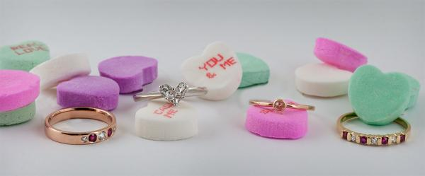 Valentines Day jewelry gift ideas rings