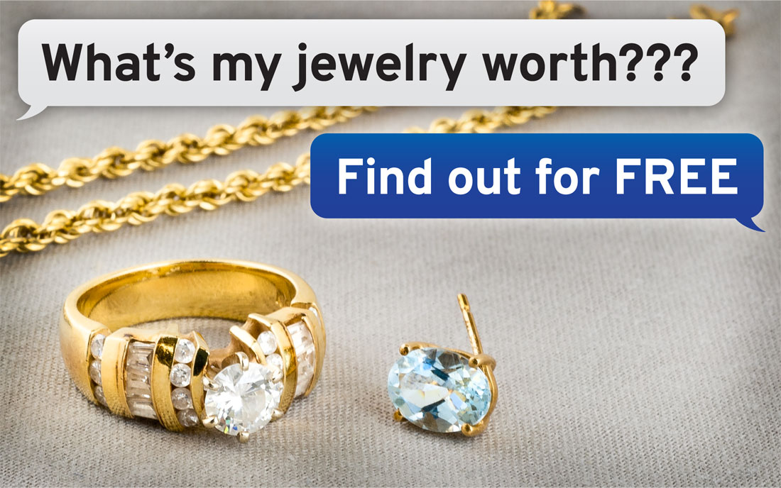 Find out how much your jewelry is worth for free with no obligation