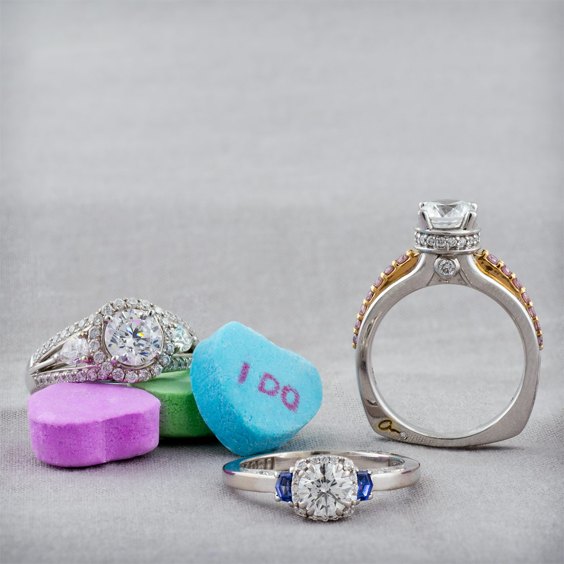 Designer engagement ring sale at Arden Jewelers