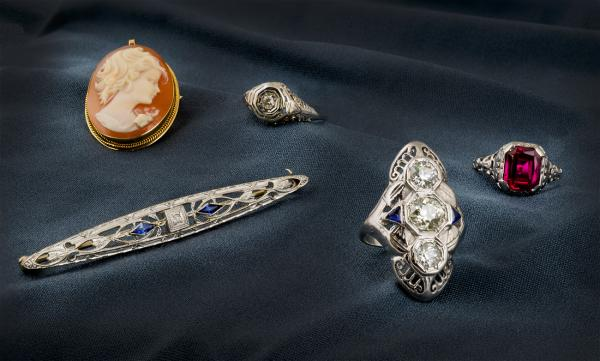 Evaluating inherited estate jewelry can be tricky