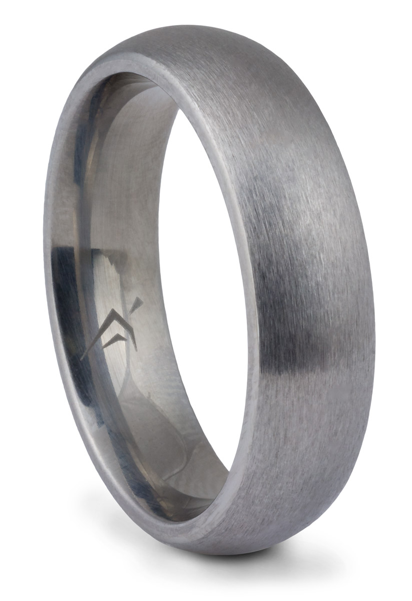 Brushed Titanium Band