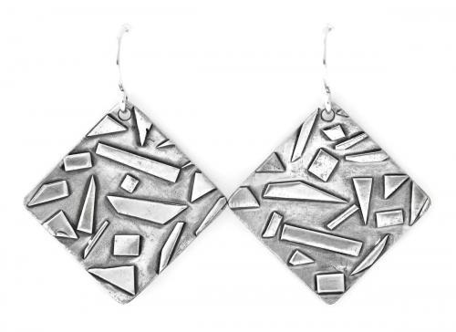 Jen Lesea : Geometric Dangle Earrings