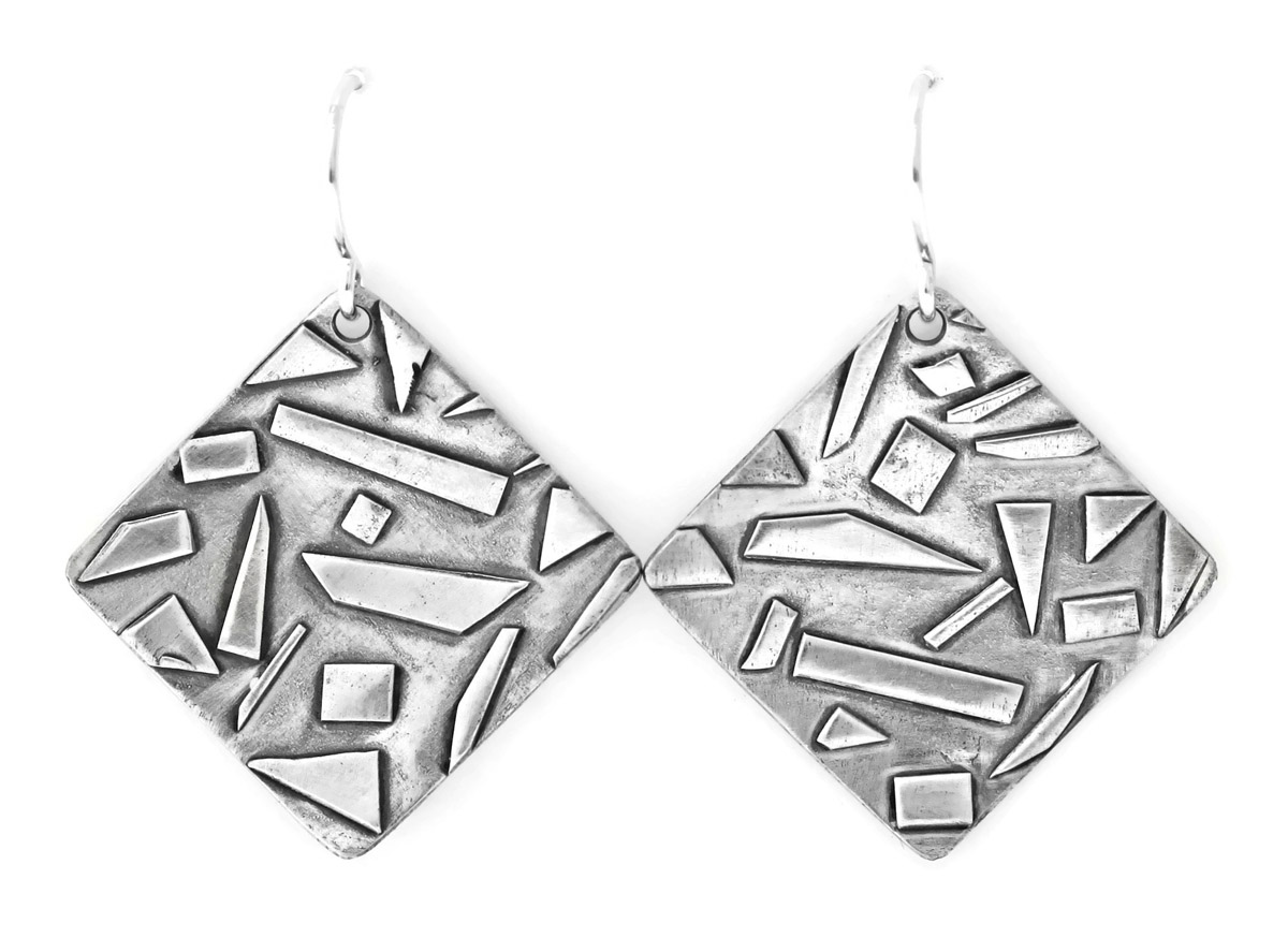 117c3980a Jen Lesea : Geometric Dangle Earrings : Jen Lesea Designs : 8506 : Arden  Jewelers