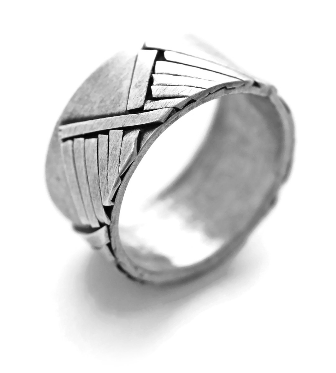 Mountain Range Ring - Side