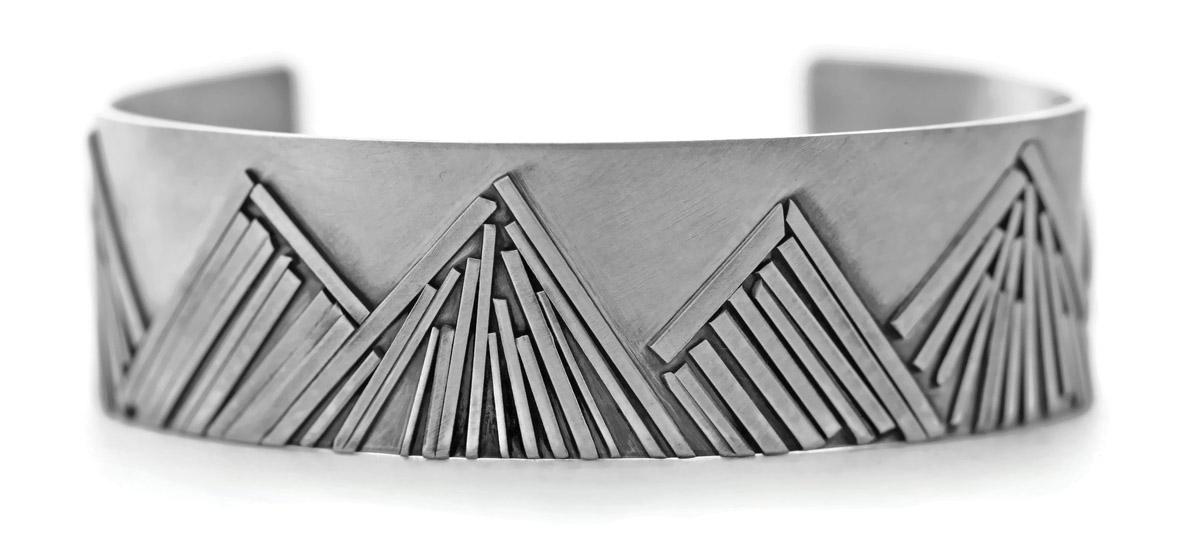 Mountain Range Cuff Bracelet