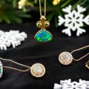 Opal rings and necklaces