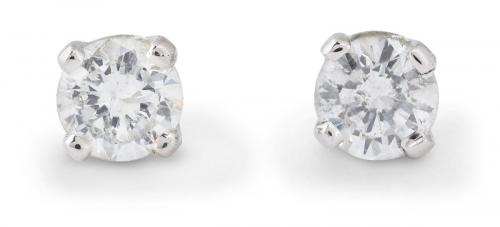 0.22ct Diamond Stud Earrings