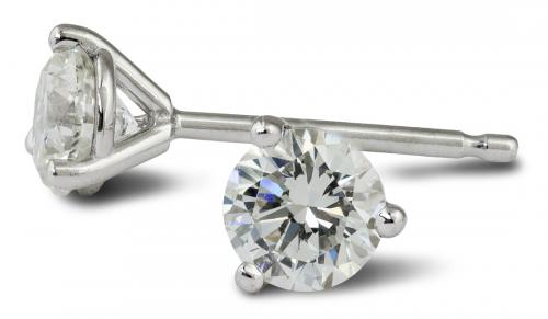 These diamond stud earrings could be all yours