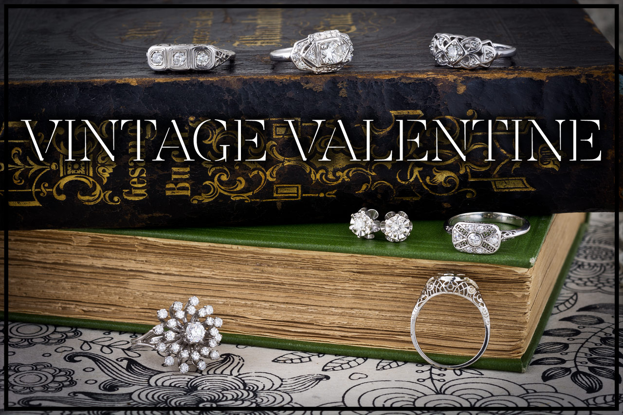 vintage valentines day jewelry gifts on sale now