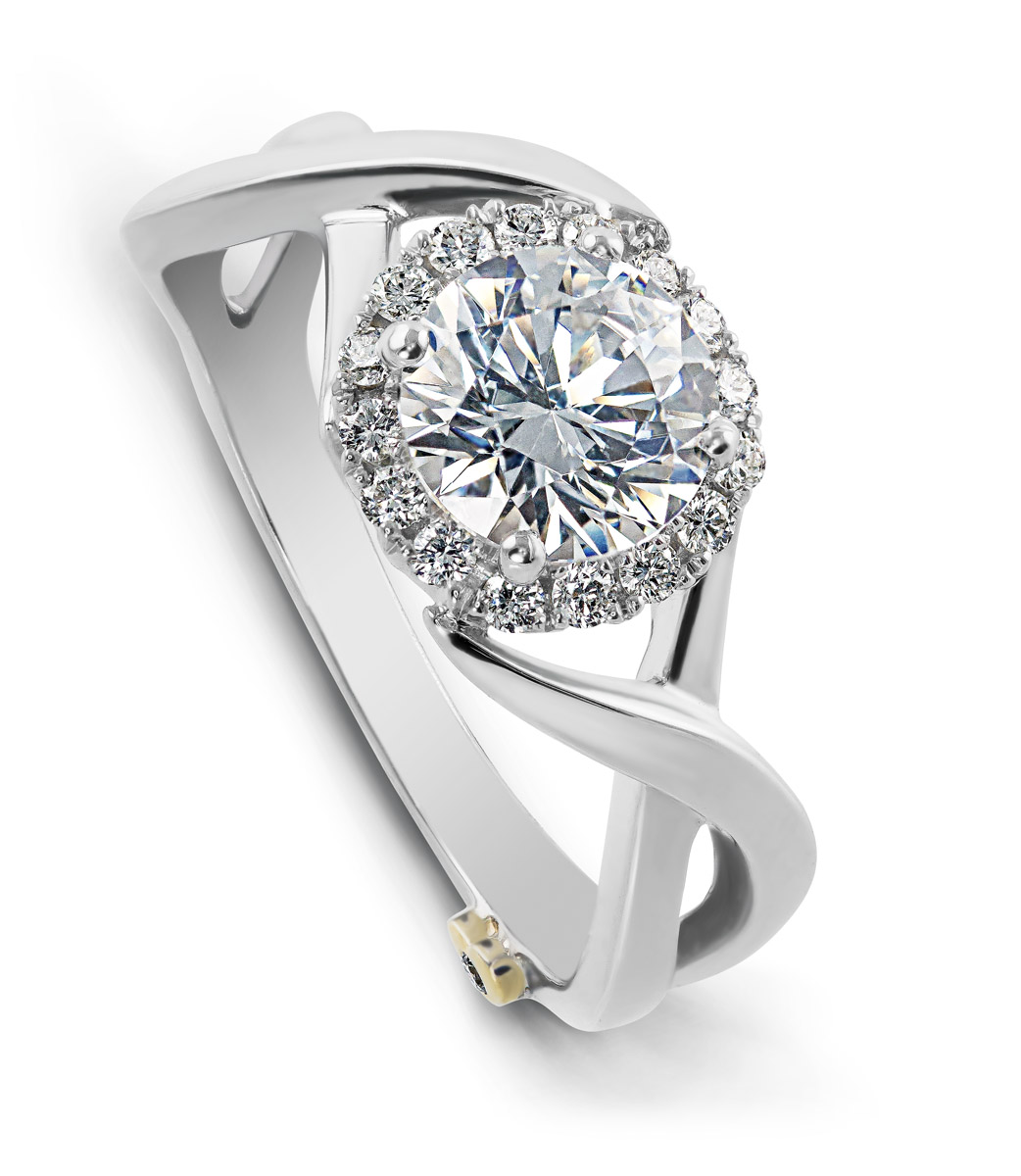 Mark Schneider : Aura Engagement Ring