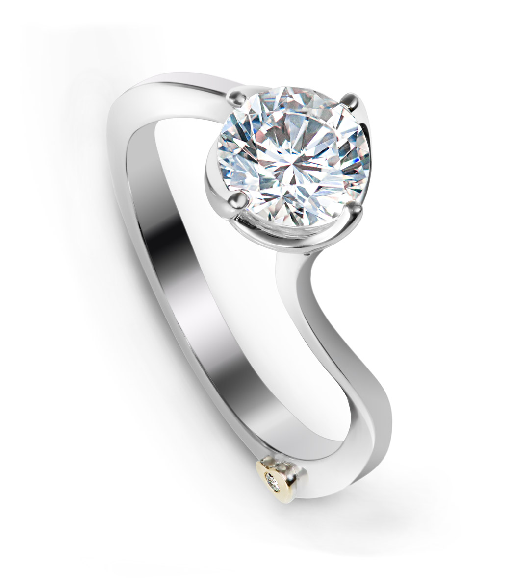 Mark Schneider : Posy Engagement Ring