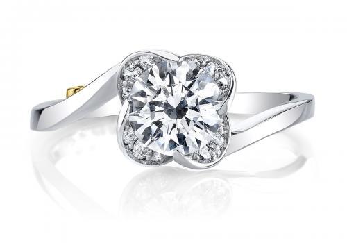 Mark Schneider : Rose Engagement Ring