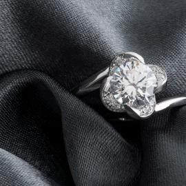 Mark Schneider : Rose Engagement Ring - 2