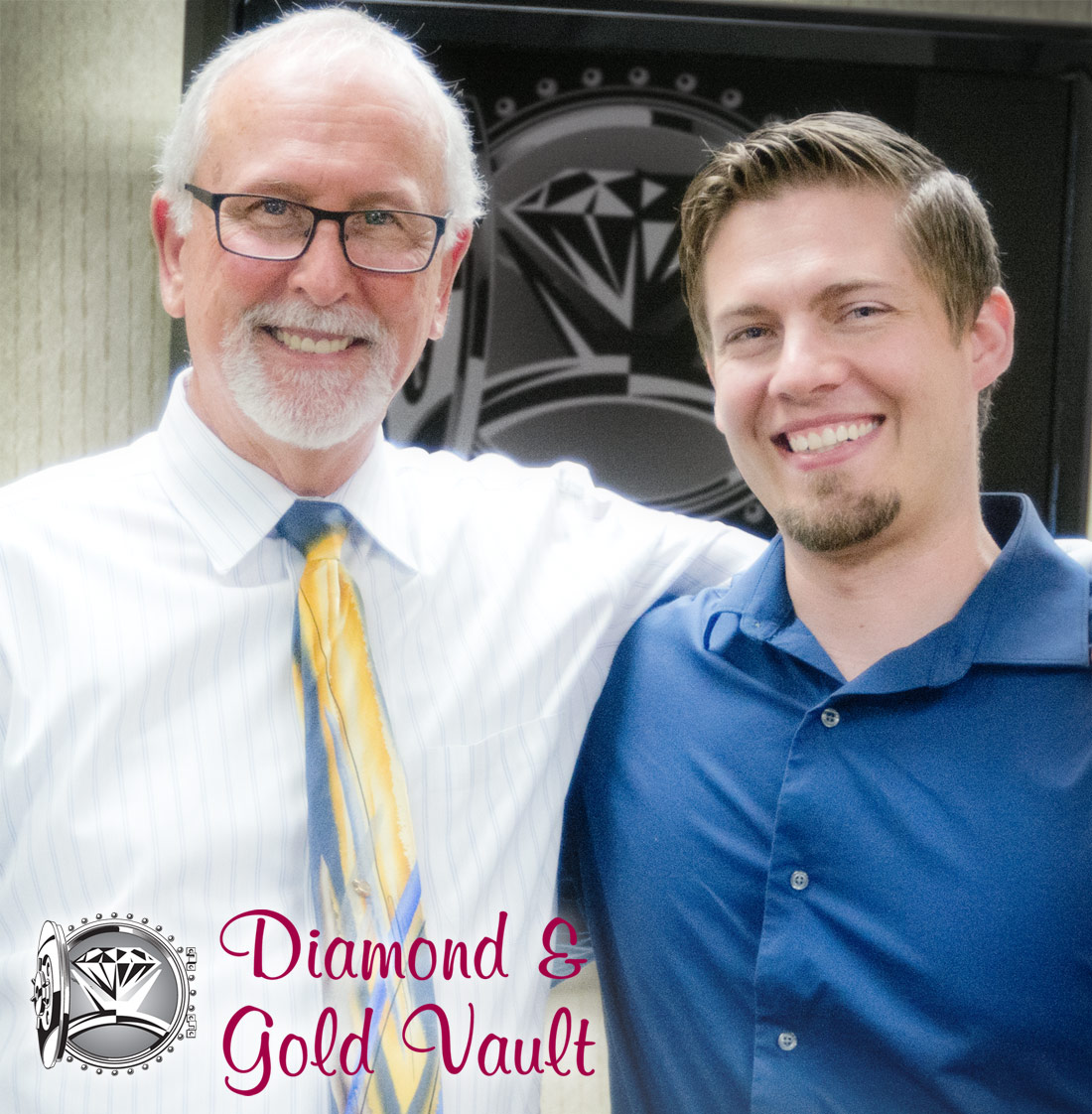 Gene from Diamond and Gold Vault with Angelo from Arden Jewelers