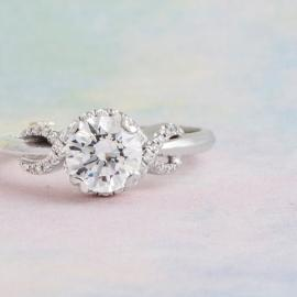 Mark Schneider : Infinity Engagement Ring - 3