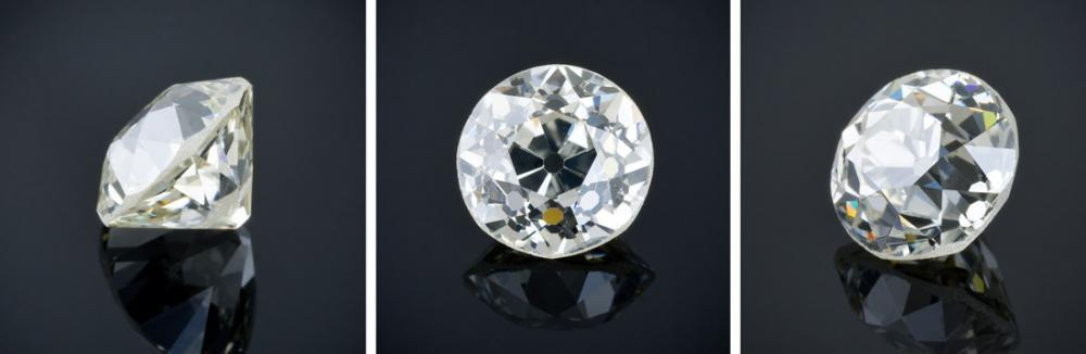 Old Mine cut diamond example