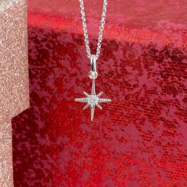 North Star Diamond Pendant - 1